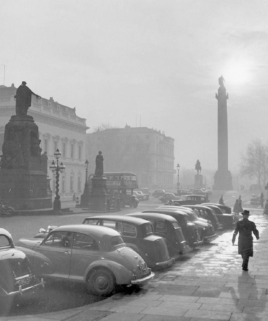 Kees Scherer Trafalgar Square - London - 1959