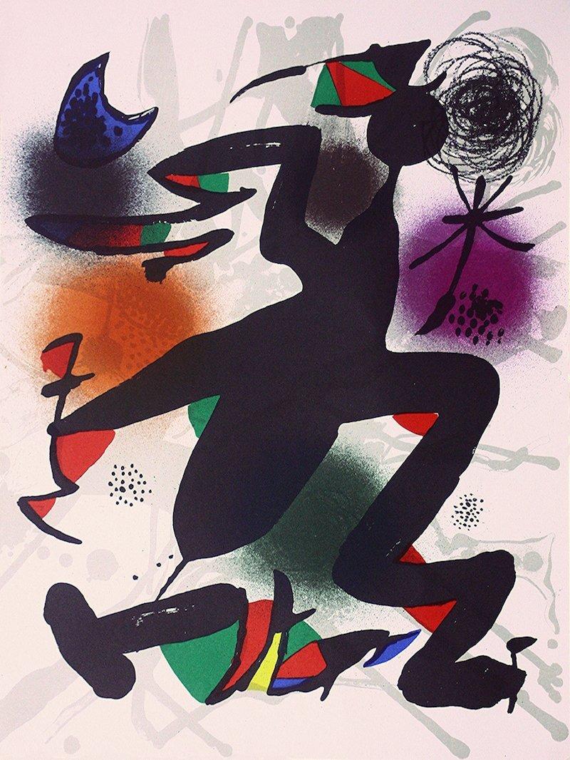 Joan Teixidor's portfolio Joan Miró, Litografía