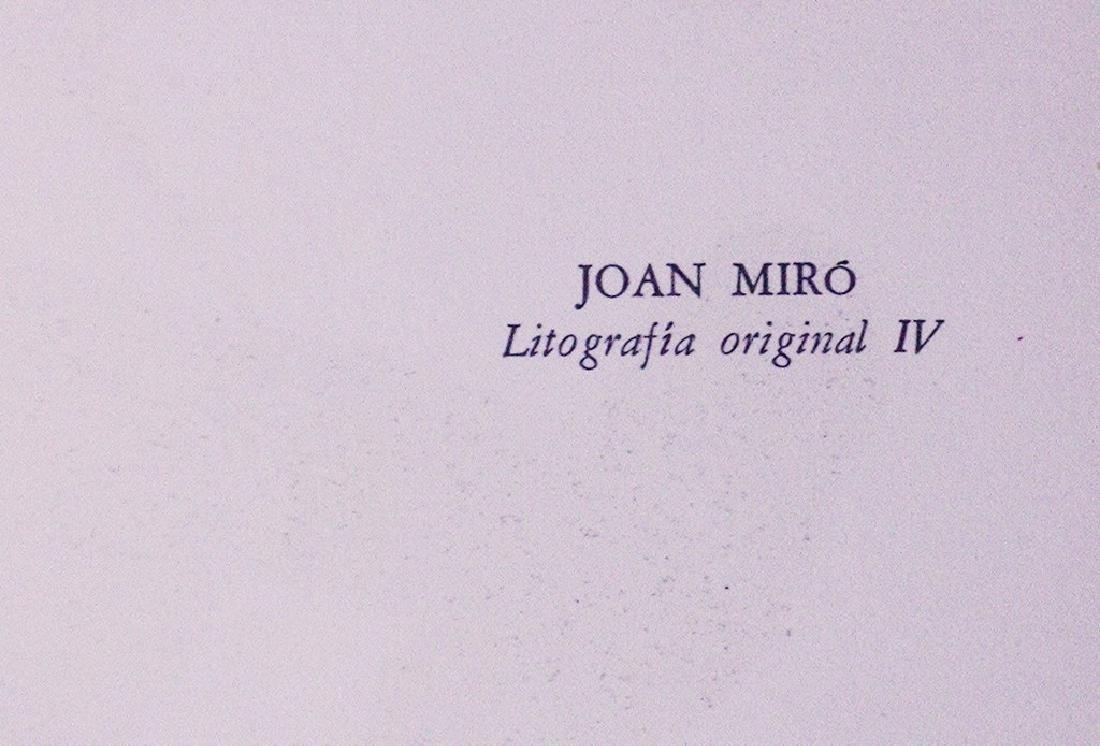 Joan Teixidor's portfolio Joan Miró, Litografía - 2