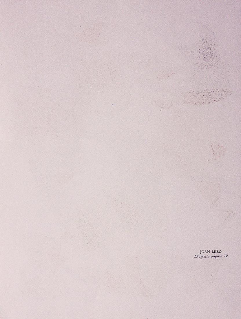 Joan Teixidor's portfolio Joan Miró, Litografía - 3