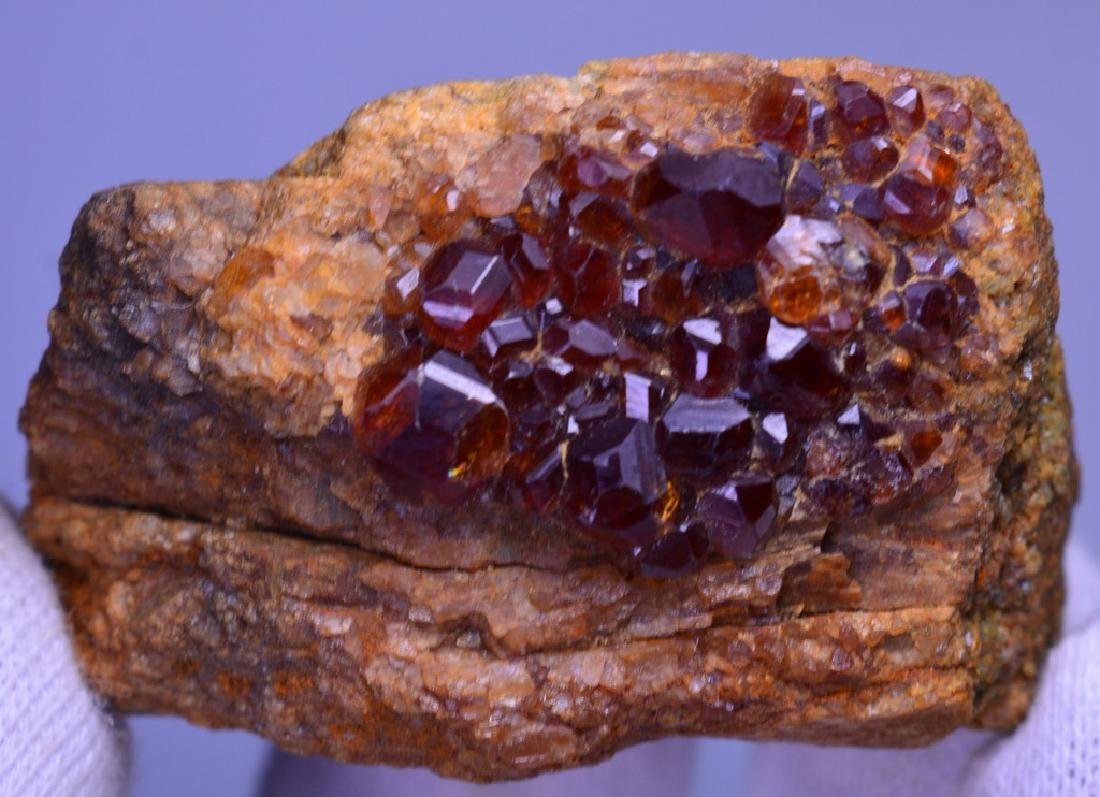 115 Grams Garnet Specimen - 3