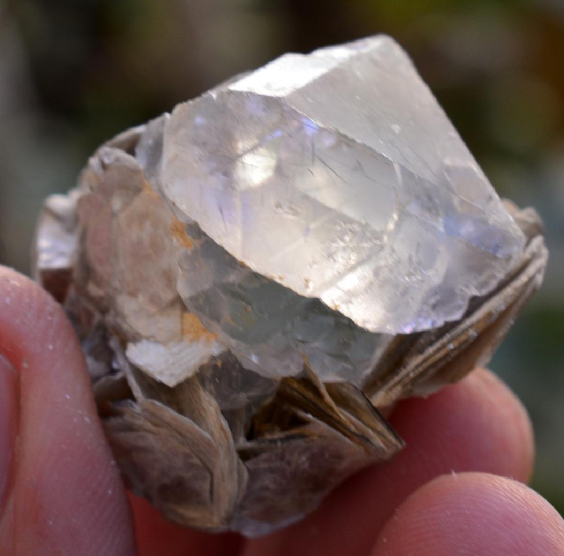 Natural Fluorite Specimen with mica