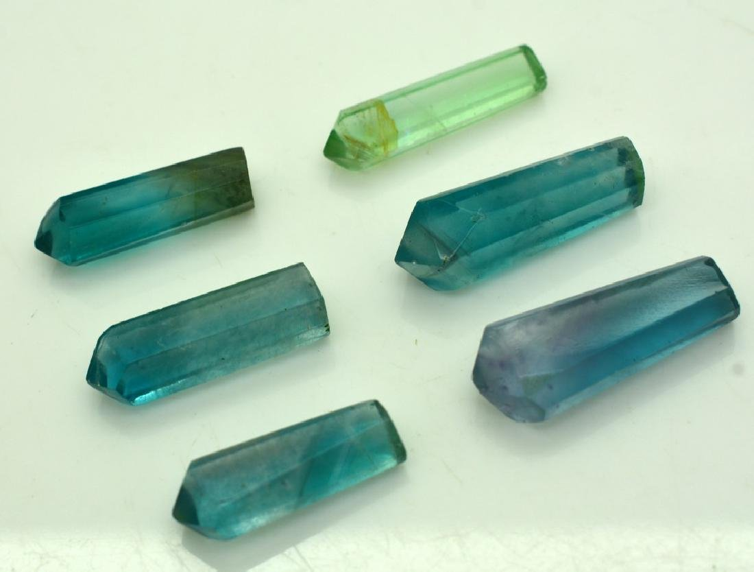 Natural Fluorite Pendants Crystals - 3