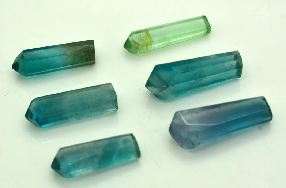 Natural Fluorite Pendants Crystals - 6