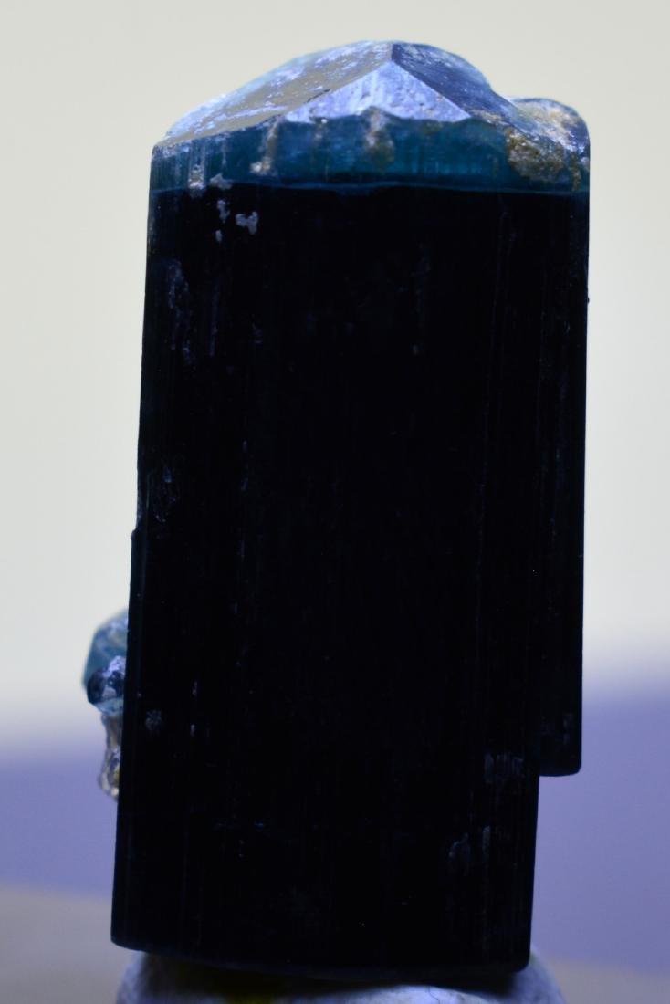 Blu Cap Tourmaline Crystal