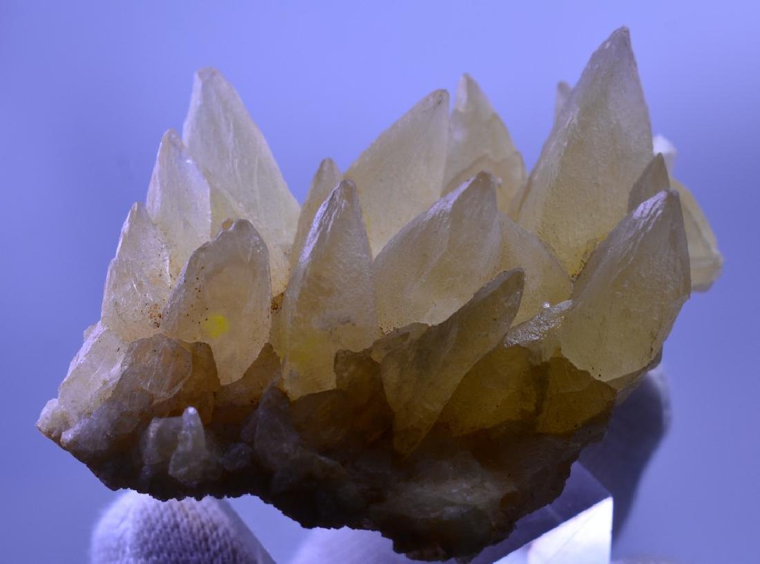Natural Calcite dog Tooth Specimen - 3