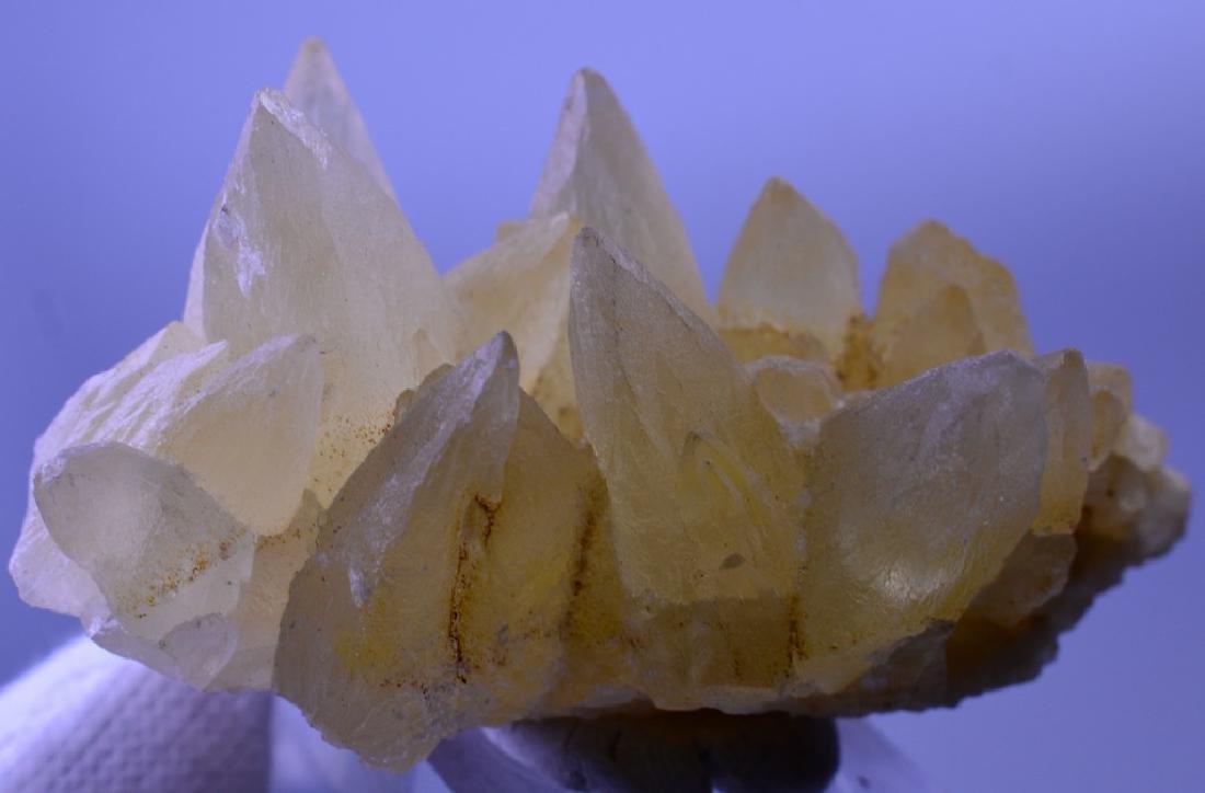Natural Calcite dog Tooth Specimen - 4