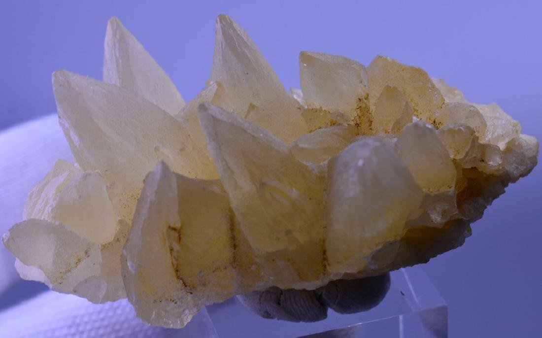 Natural Calcite dog Tooth Specimen - 5