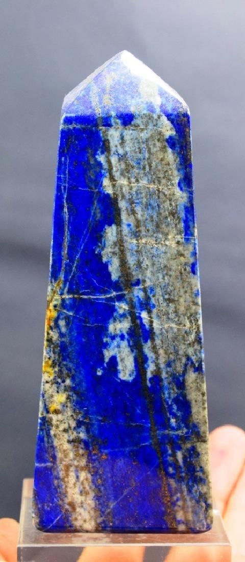 399 Gram lapis lazuli obelisk - 4