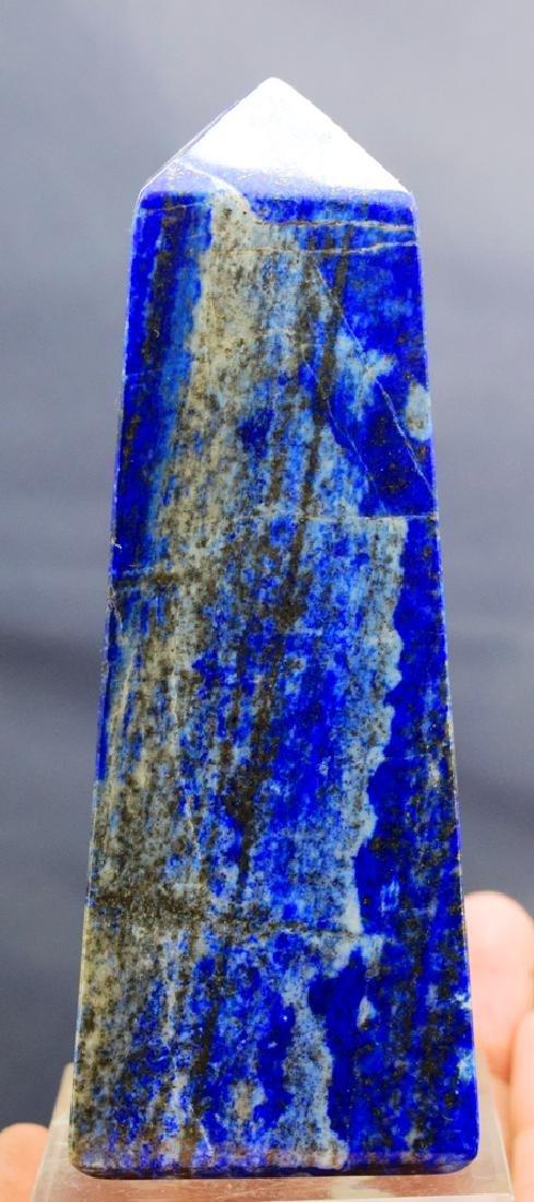 399 Gram lapis lazuli obelisk - 5
