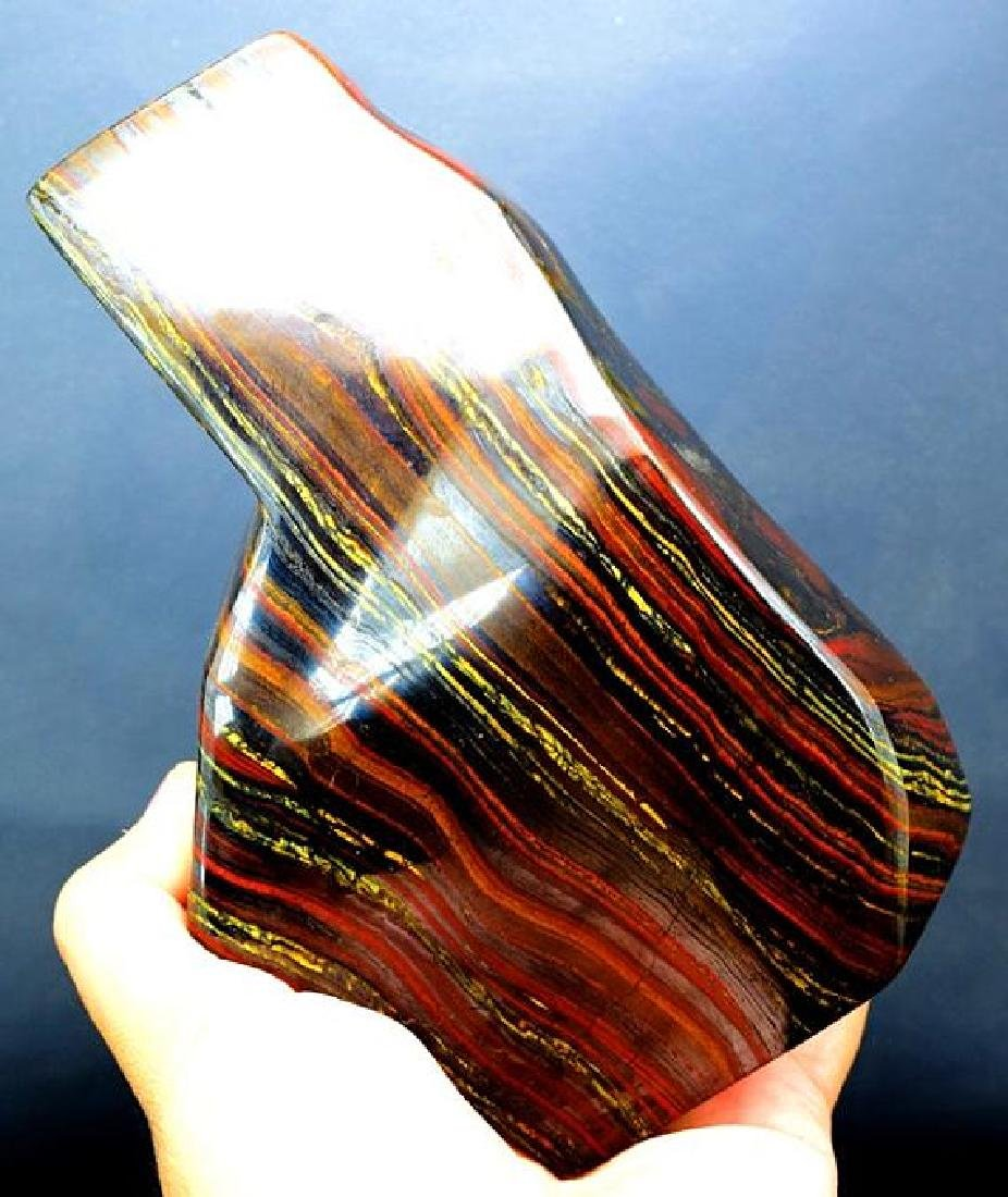 1179 GM Polished Multi-Color Tiger Eye / Iron Stone