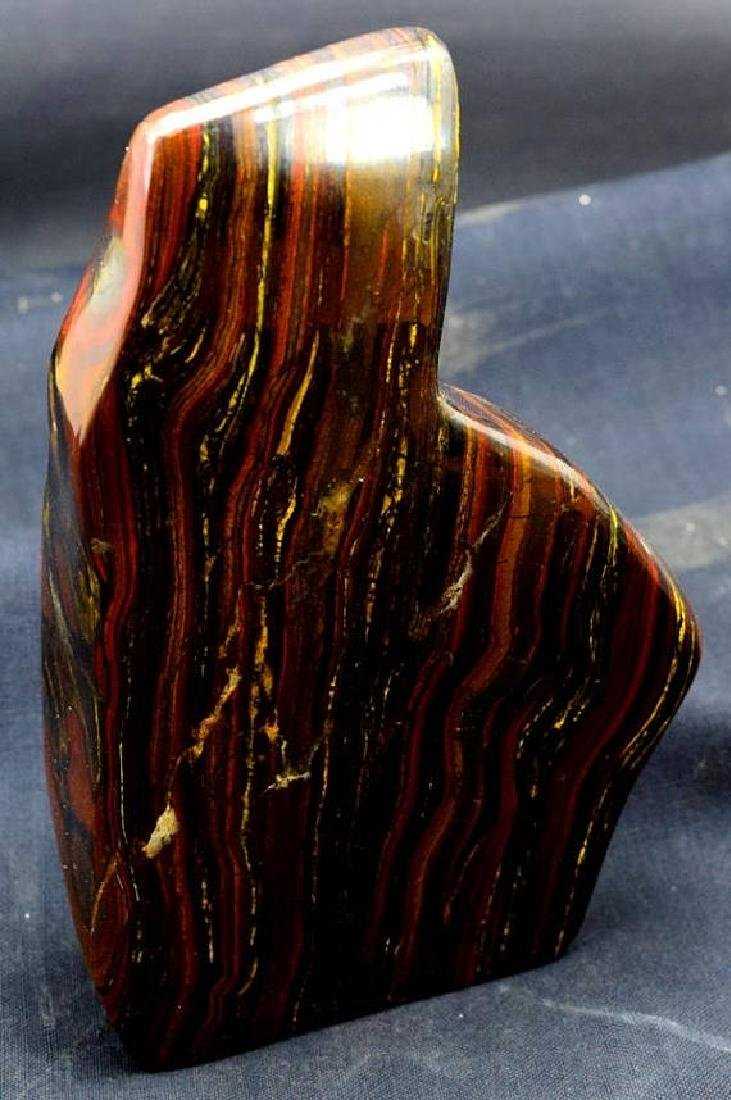 1179 GM Polished Multi-Color Tiger Eye / Iron Stone - 4