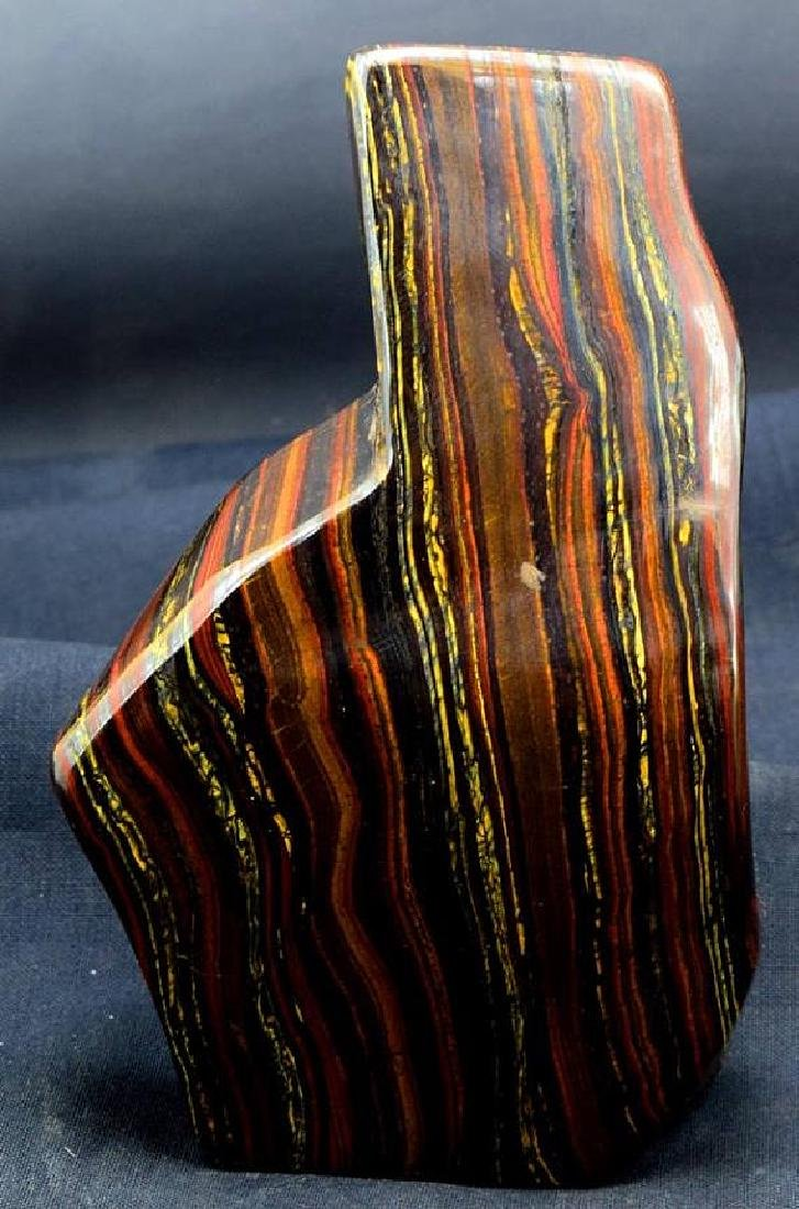 1179 GM Polished Multi-Color Tiger Eye / Iron Stone - 6