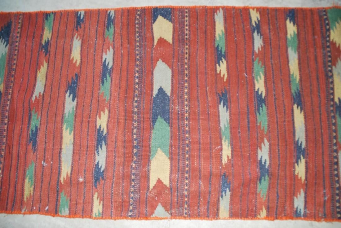 Antique Afghan Kilim Rug 6x2.3 - 2