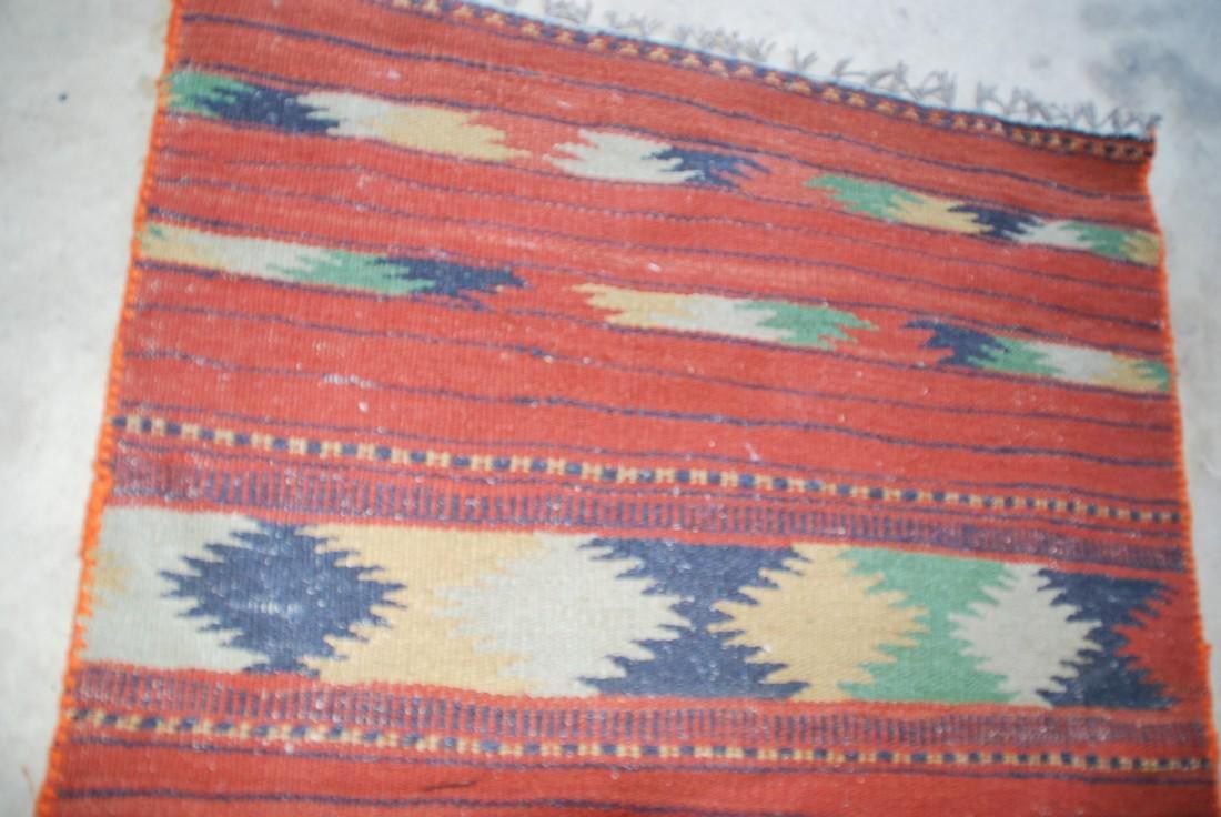 Antique Afghan Kilim Rug 6x2.3 - 3
