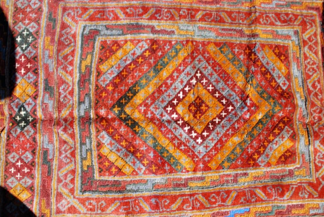 Early 20th Century Antique Herati Carpet Rug 5x3.10 - 2