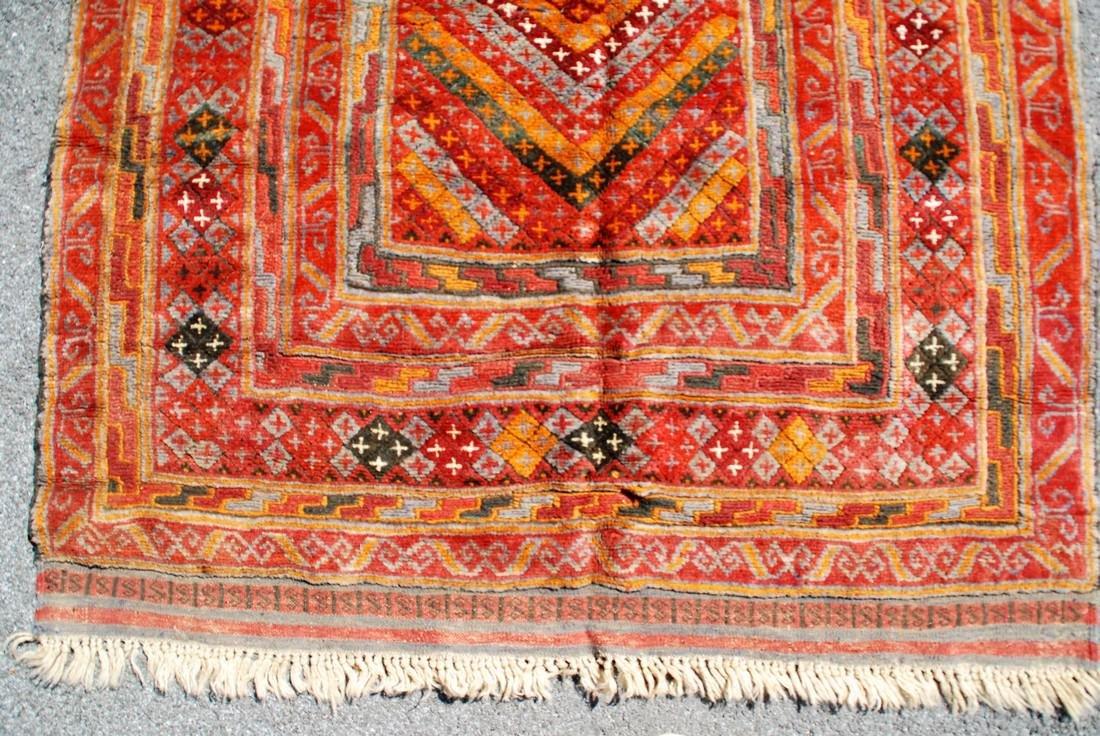 Early 20th Century Antique Herati Carpet Rug 5x3.10 - 3