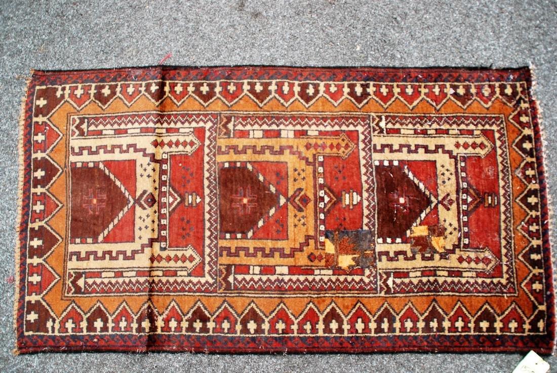 Tribal Nomad Afghan Carpet Rug 4.9x2.6