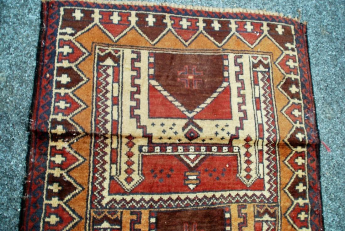 Tribal Nomad Afghan Carpet Rug 4.9x2.6 - 2