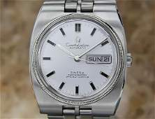 Omega Constellation Chronometer Automatic Swiss 18k &
