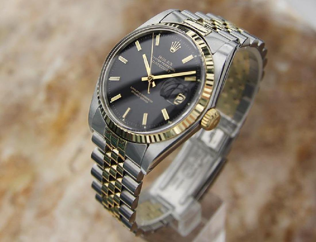 Rolex 1977 Mens 1601 Swiss Made Gold and Stainless - 2