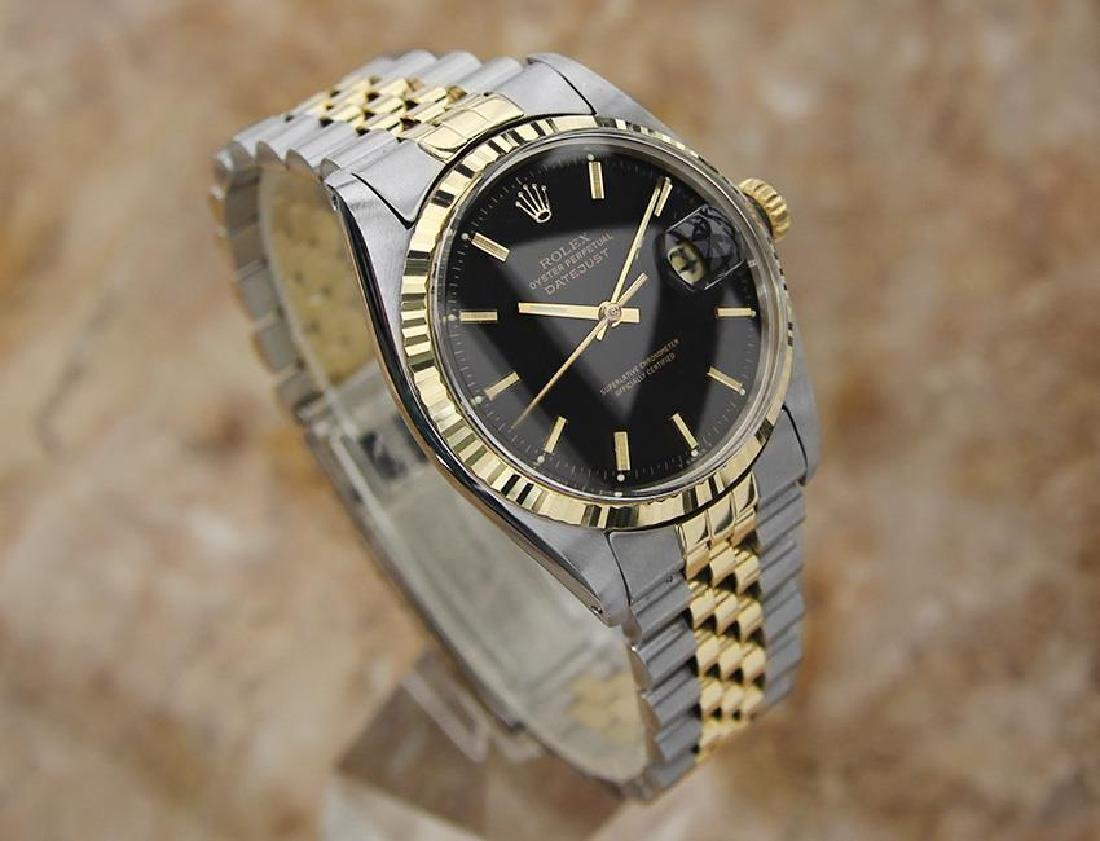 Rolex 1977 Mens 1601 Swiss Made Gold and Stainless - 3