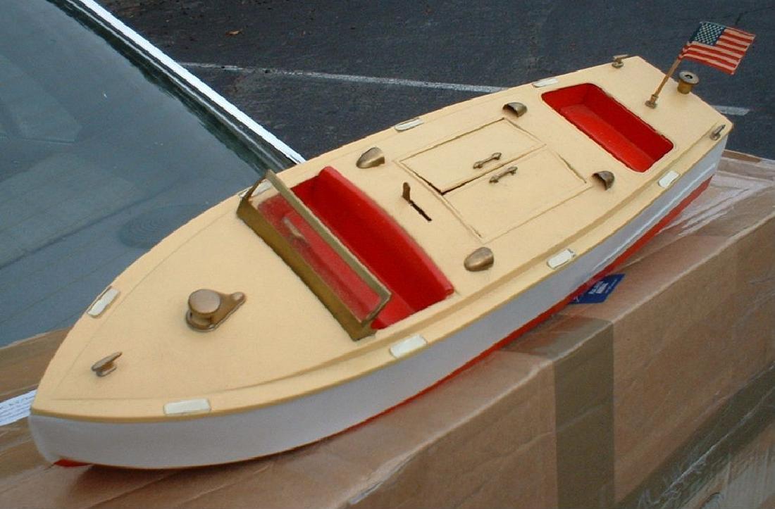 """Late 1950's 18"""" Lionel Craft Speedboat - 3"""