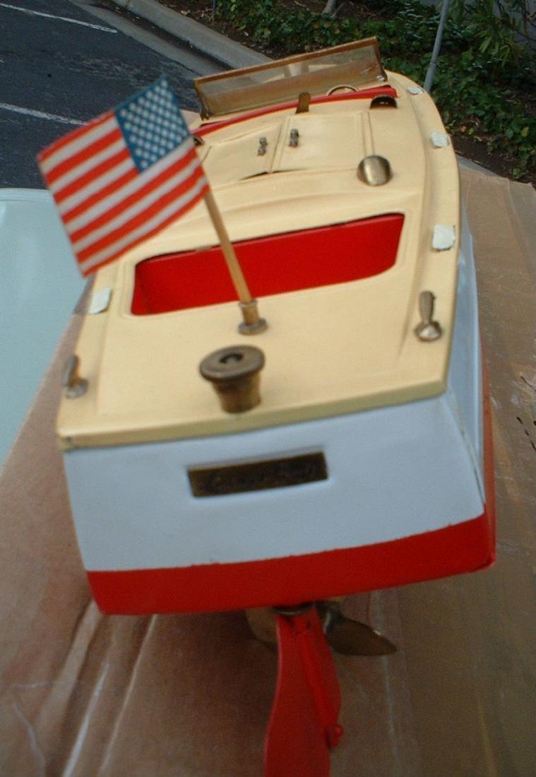 """Late 1950's 18"""" Lionel Craft Speedboat - 4"""