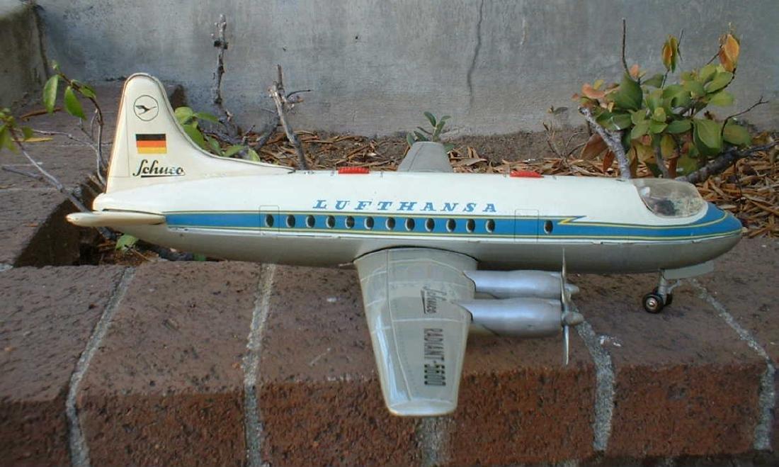 Schuco Radiant 5600 Lufthansa - 3