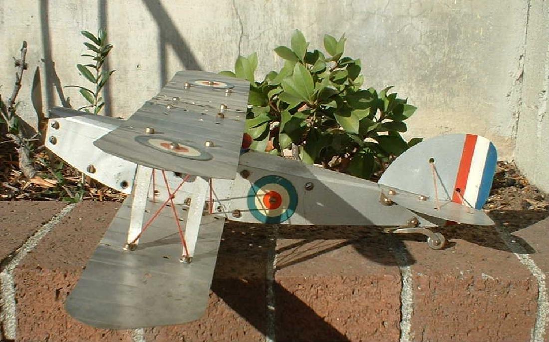 Meccano No.1 biplane