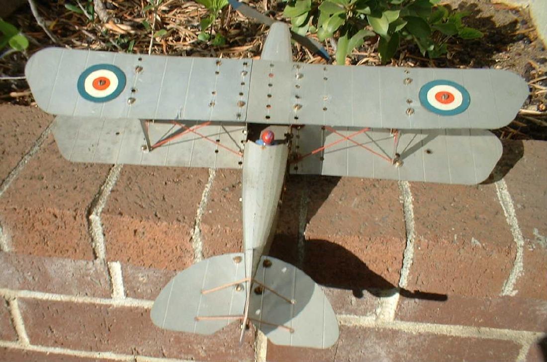 Meccano No.1 biplane - 2