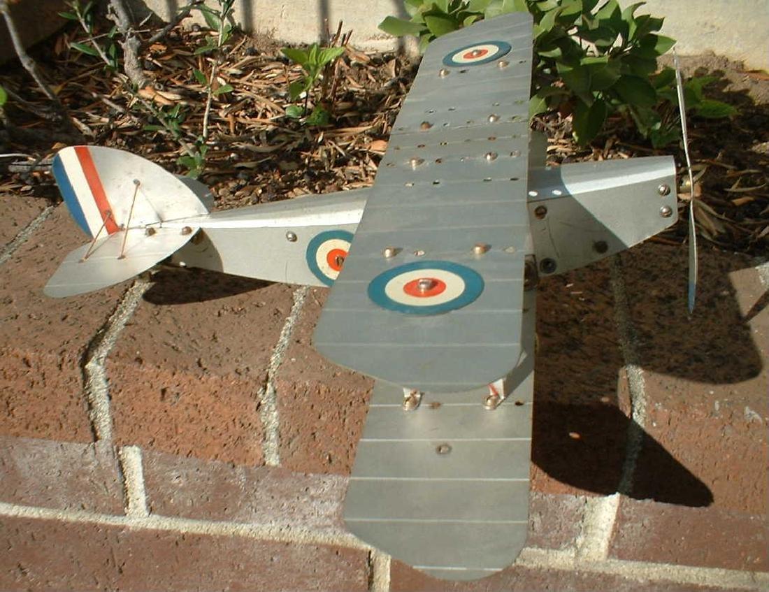 Meccano No.1 biplane - 3