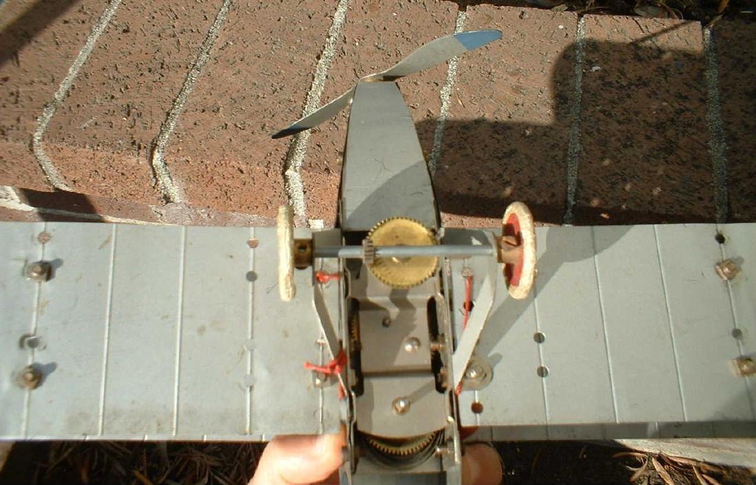 Meccano No.1 biplane - 4
