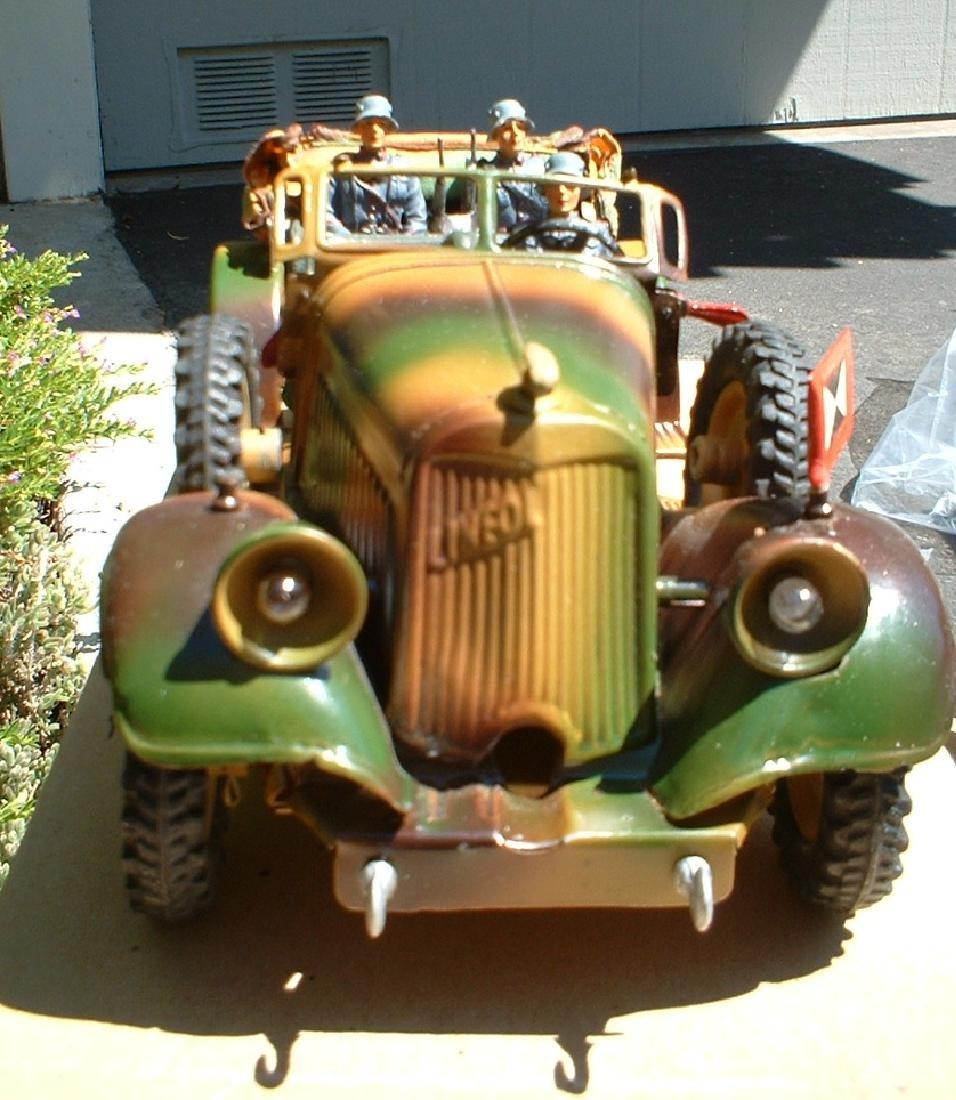 1937 Lineol staff car 1203/5 - 2
