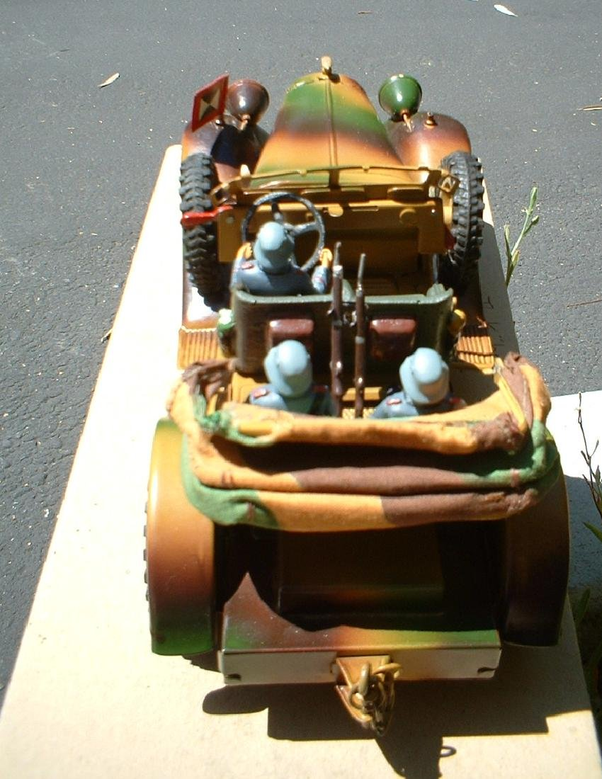 1937 Lineol staff car 1203/5 - 4
