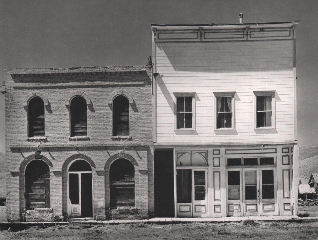 ANSEL ADAMS - Ghost Town - Bodie
