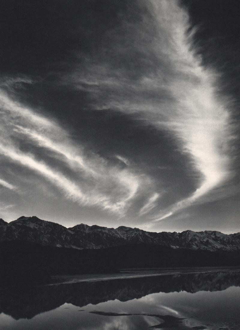 ANSEL ADAMS - Mountain Range