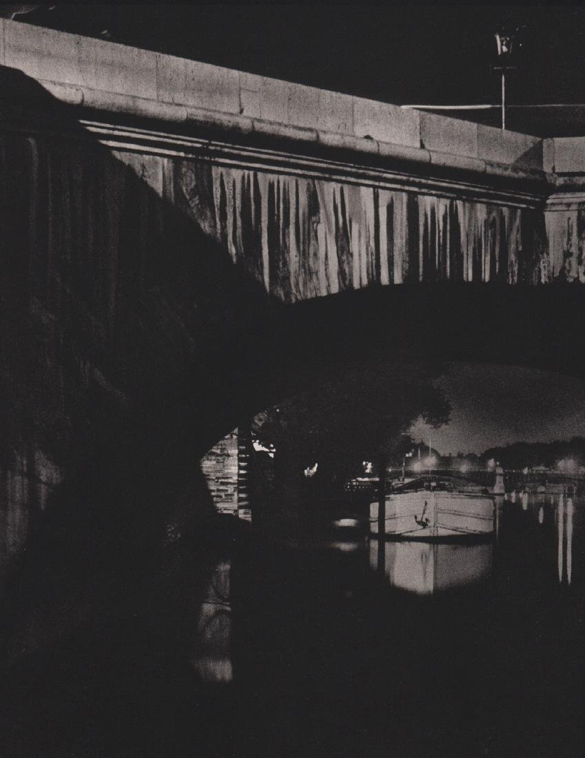 BRASSAI - Stonework of the Pont Royal