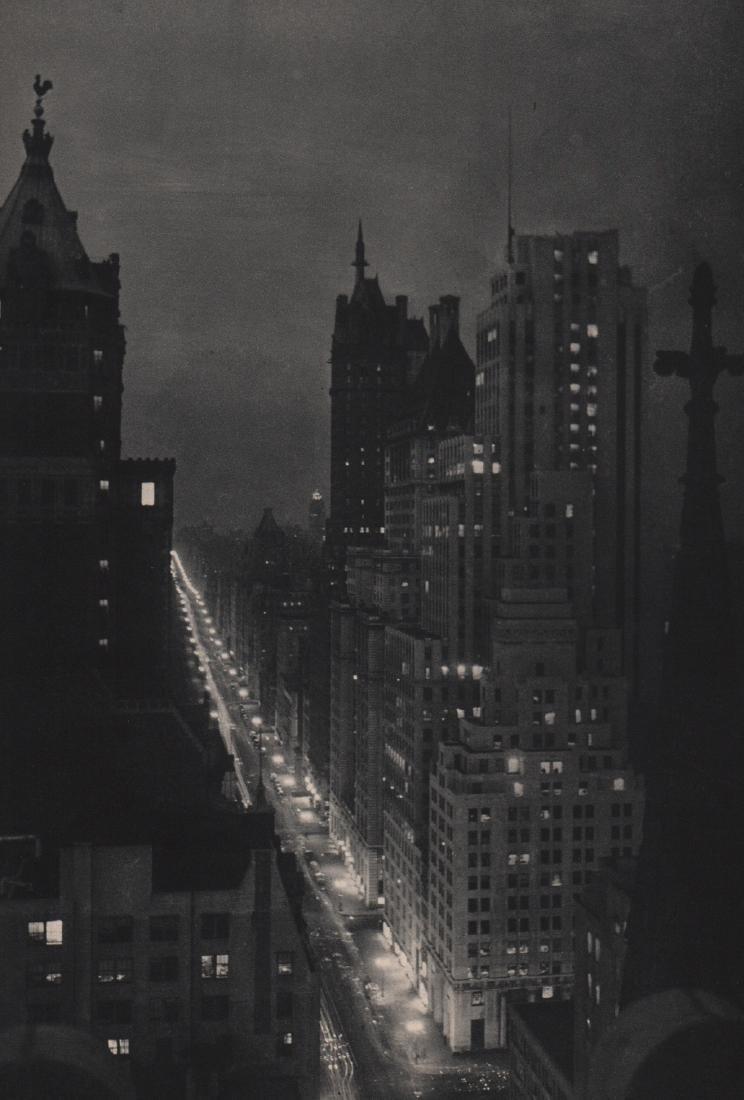 MARIO BUCOVICH - 5th Avenue from Hotel Gotham