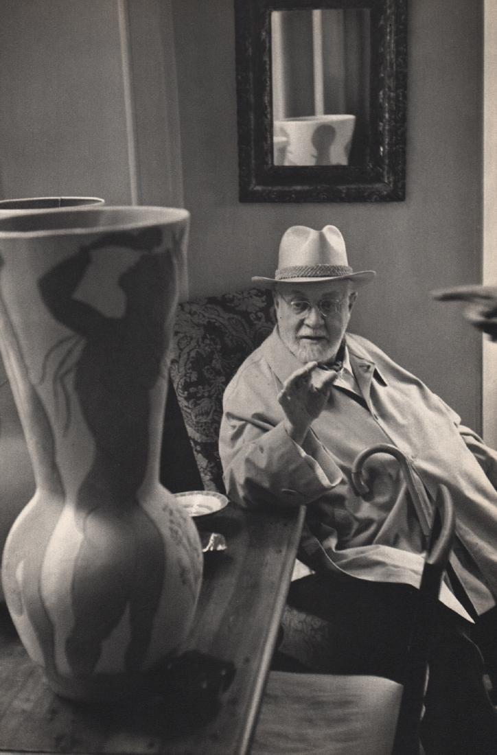 HENRI CARTIER-BRESSON - Matisse, 1952