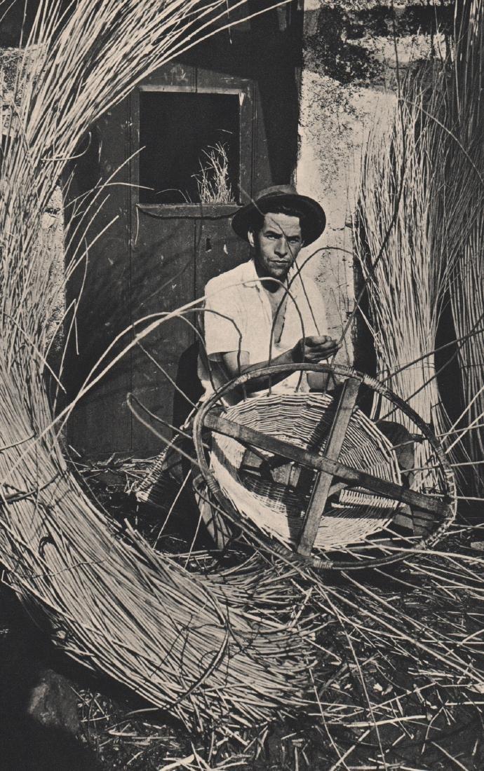 ALVIN LANGDON COBURN -  Basket-weaver