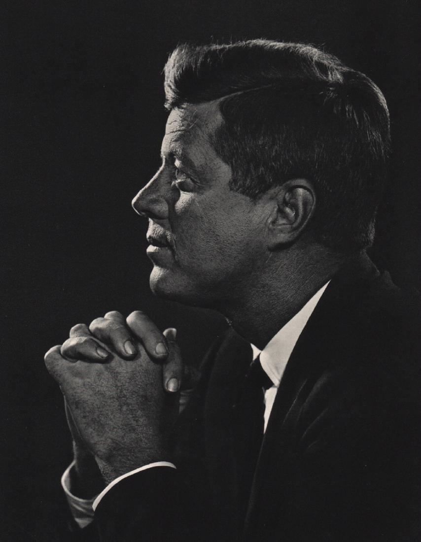 YOUSUF KARSH - John Fitzgerald Kennedy