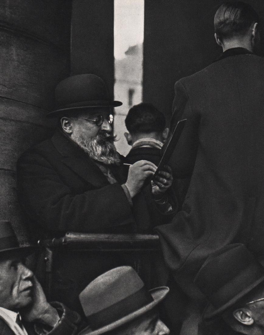 ANDRE KERTESZ - At the Bourse, Paris 1926