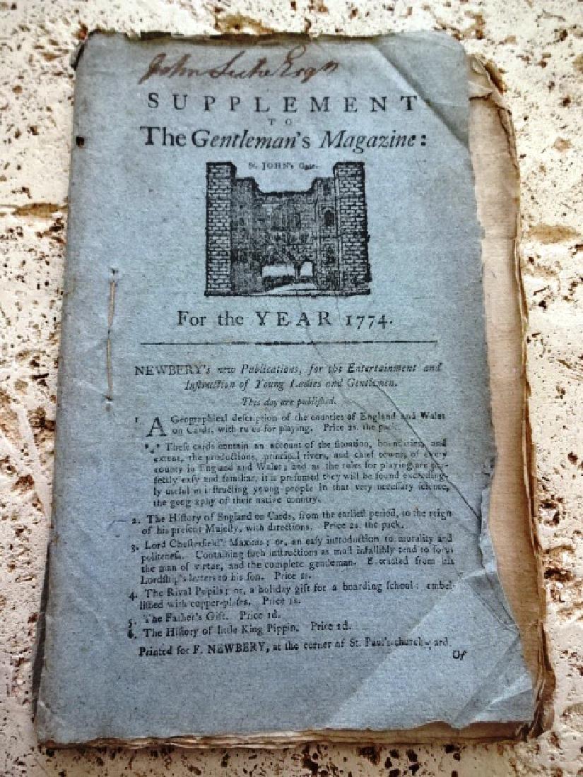 1774 Magazine Edmund Burke American Taxation Speech