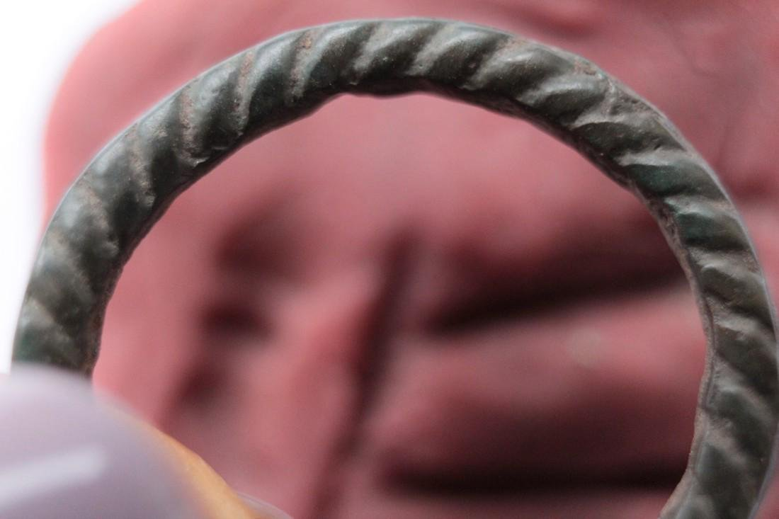 Medieval Bronze Twisted Ring