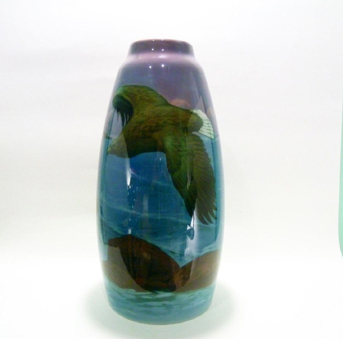 Art Nouveau Rorstrand Swedish Porcelain Antique Vase