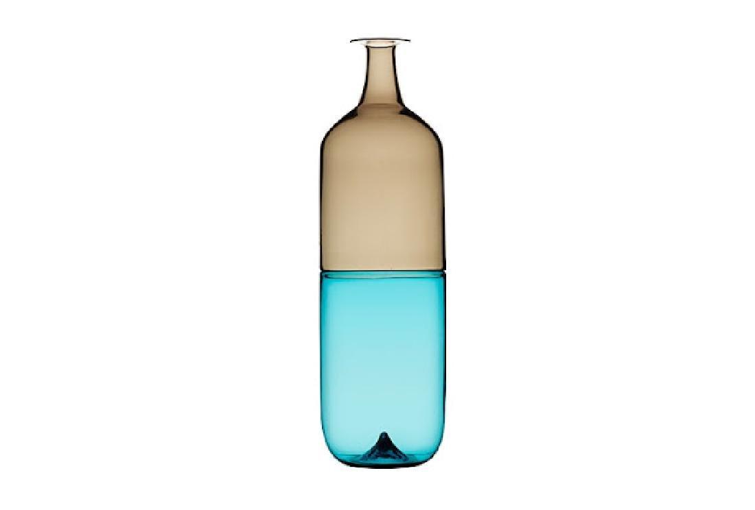 Tapio Wirkkala Glass Vase Bolle, c1982
