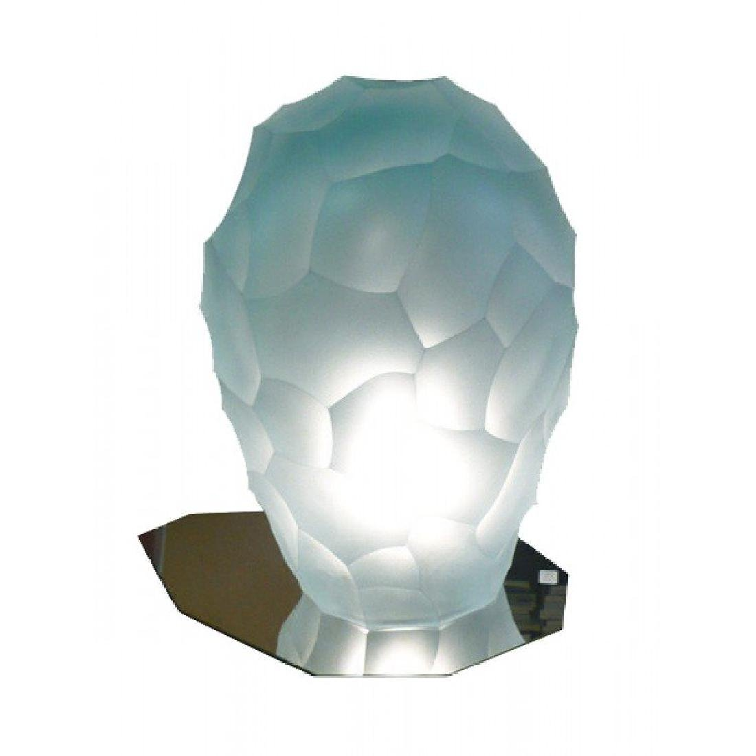 Giorgio Vigna Glass Vase Luce Siderale