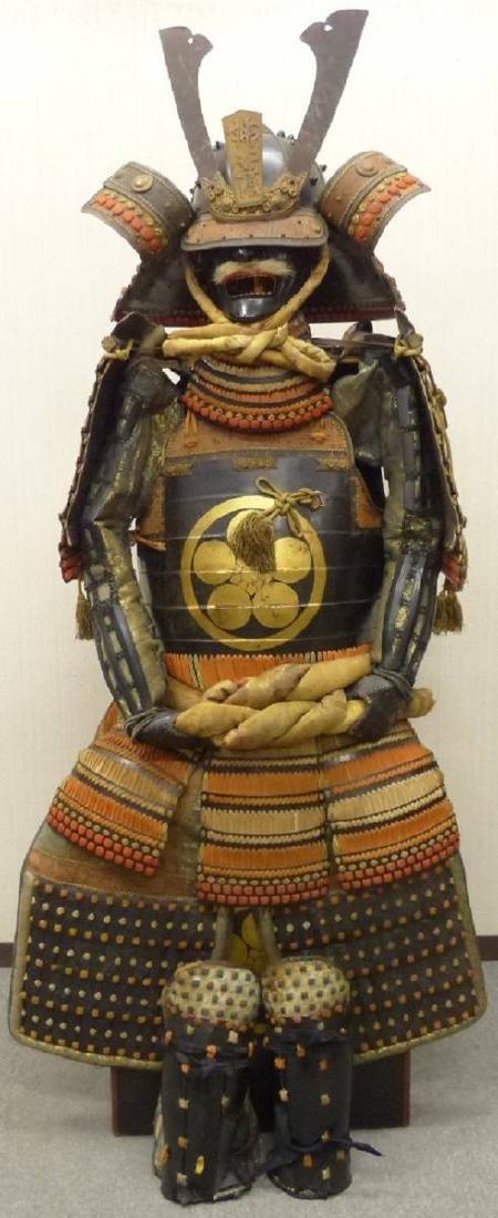 Japanese Early Showa Samurai Armor Yoroi