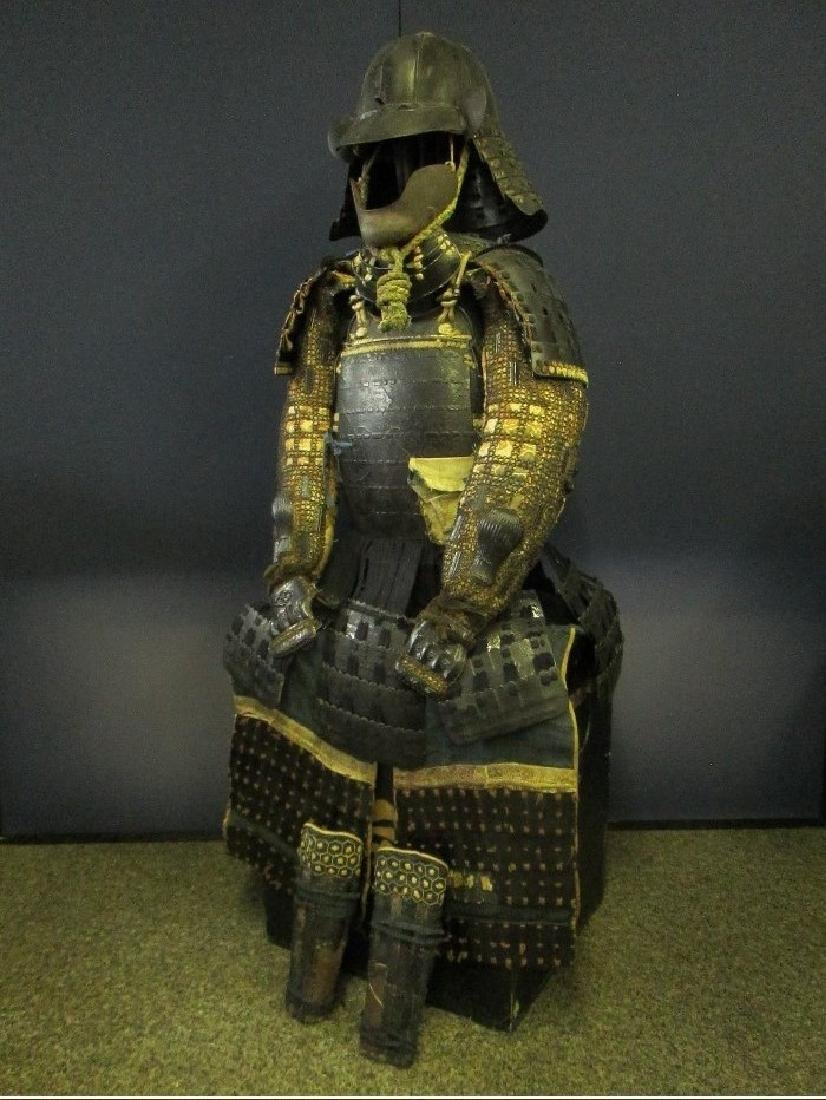 Original Japanese Edo Period Samurai Armor